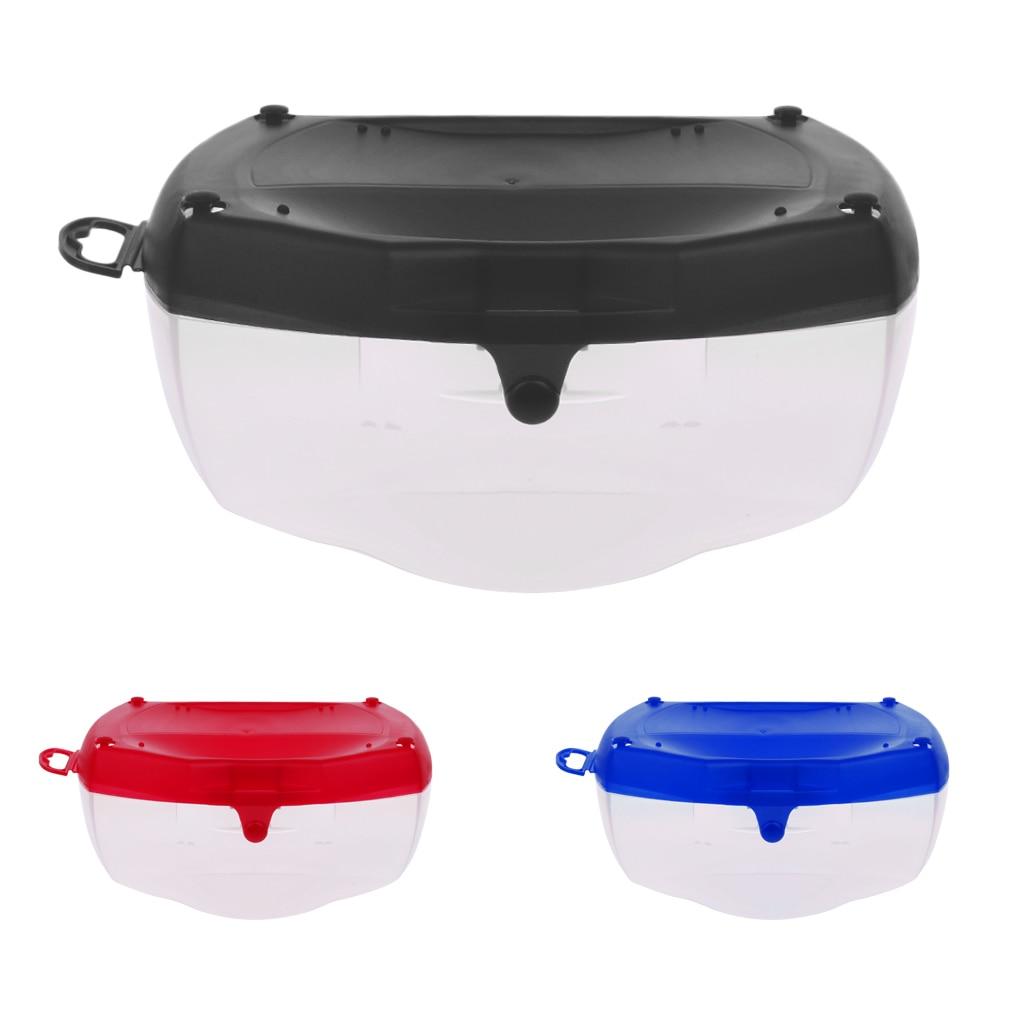 Hard Plastic Protective Box Case For Scuba Diving Mask Snorkel Swim Goggles Glasses Lenses