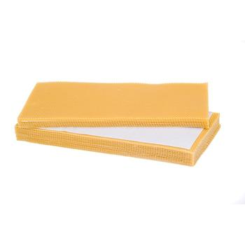 Apis mellife 30Pcs beewax beehive foundation for beekeeper high quality beehive equipment honey comb foundation beekeeping sheet
