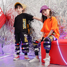 Kids Hip Hop Ballroom Dancing Costumes for Girls Boys Jazz Dance Clothes Party