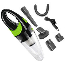 Portable USB Auto Car Vacuum Cleaner 4000kpa 120W Hand held Dual-use Accessories High Quality