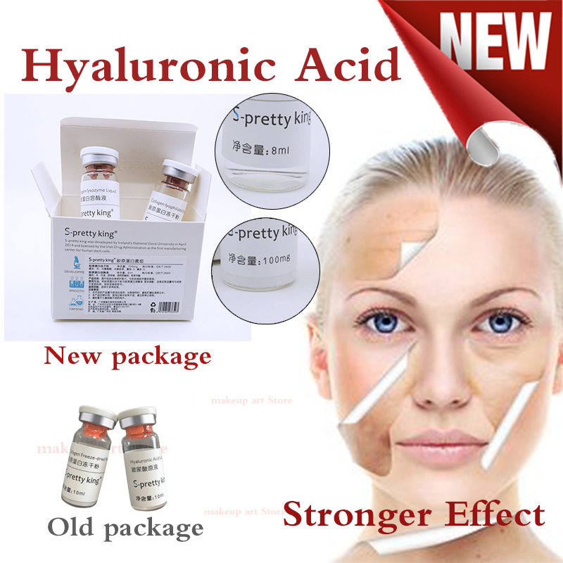 2 Bottles/box High Quality Hyaluronic Acid Remove Eye Bags And Fine Lines Lip Filling Injection For Atomizer Gun Hyaluronic Pen