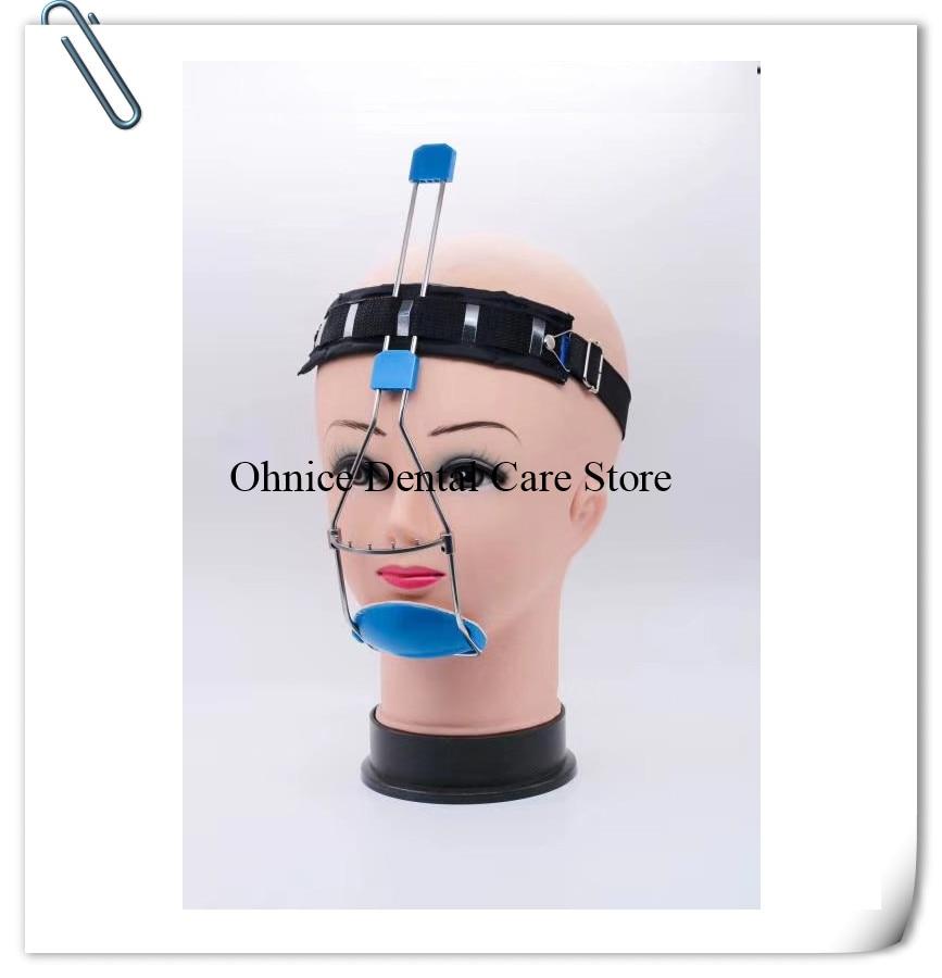 Dental orthodontic face maskDouble bars/Bi-crib Adjustable Orthodontic headgear//underbite correction Dental Headgear(China)