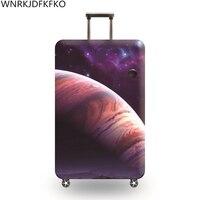 Reise Um Die Welt Gepäck Schutzhülle Covers Schutz Dicken Elastischen Liner Für Koffer Für 18