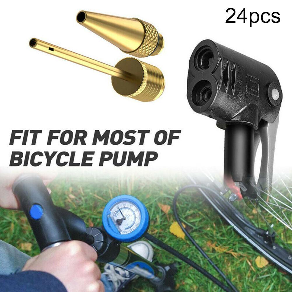 Adapter Luft Ventil Pumpe Zubehör Fußball Fahrrad Reifen Ball Ausrüstung