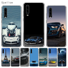 Uyellow Silicone Phone Case For Huawei P10 P20 P30 Lite Pro Hawei Mate 10 20 lite P Smart Plus 2019 Cool Sports Car Design