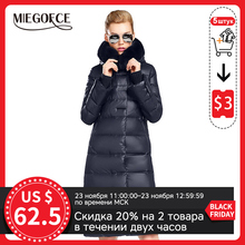 Women Parka Jacket Thick Coat MIEGOFCE Winter Collection Rabbit-Fur Hot with New Length