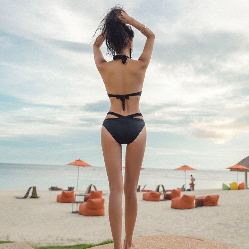 bikini steel bracket collection swimsuit wholesale sexy triangle swimsuit 4