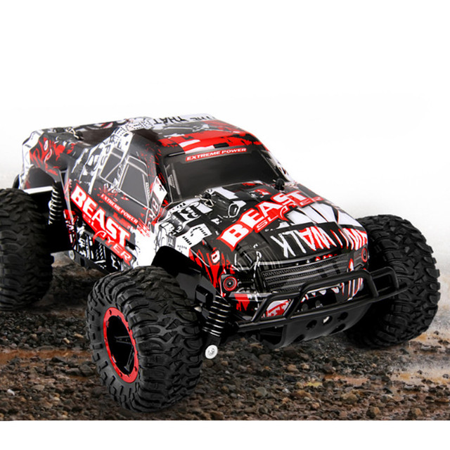 RC Car 2.4G Remote Control Off-road Vehicle Remote Control Cars Climb Buggy Trucks Boys Toys Rechargeable 1:16