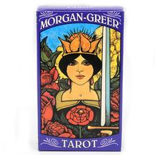 Morgan Greer Tarot 78 Cards Deck Family Party Board Game Mysterious Divination Oracle Playing Card(China)