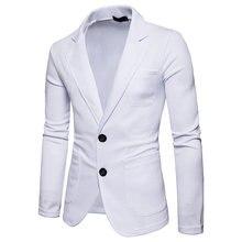 Мужские приталенные костюмы куртки Новое поступление весенние