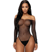 Sexy Women's Tights Teddy Outfit Hot Drill Taste Sexy Women's Fishnet Transparent Sexy Stockings Tights Erotic Underwear