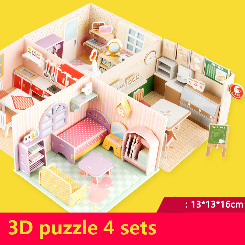 4pcs / Lot 3D Toy Lol Dolls House Toys For Kids Lol Accessories Size Suit For LOL Dolls Toys Baby Dolls Toy Accessories Gifts