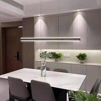 Neue Moderne LED Esszimmer Kronleuchter Beleuchtung Minimalistischen Restaurant Hhanging Licht Büro Leuchten Bar beleuchtung studie lampe