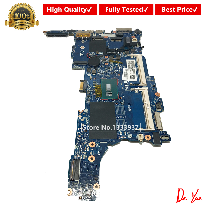 Free Shipping 799510-001 799510-501 799510-601 For HP Elitebook 840 G2 740 G2 Laptop Motherboard I5-5200 6050A2637901-MB-A02