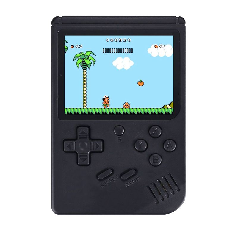 <font><b>Games</b></font> MINI Portable Retro Video Console Handheld <font><b>Game</b></font> Advance Players <font><b>Game</b></font> <font><b>Boy</b></font> 3.0 Inch <font><b>Color</b></font> LCD Screen black image