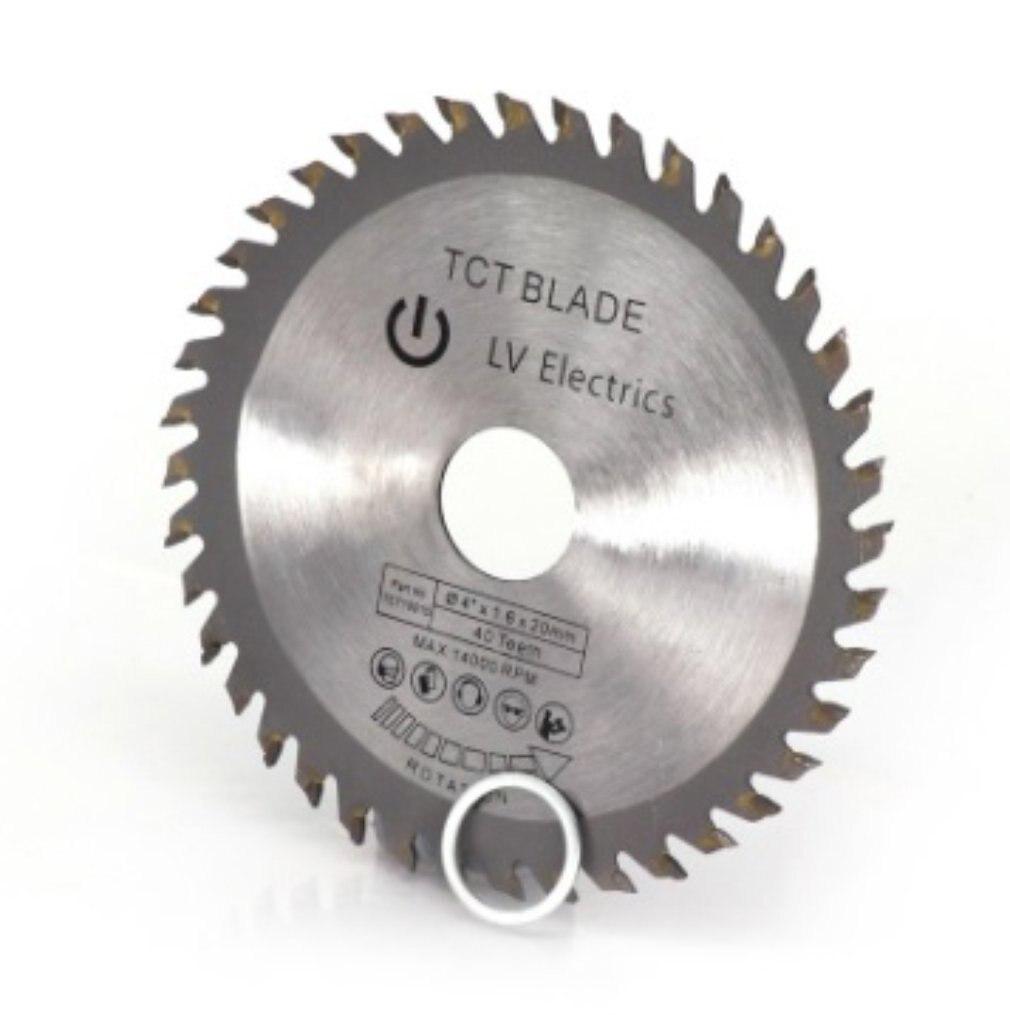 40 Teeth TCT Circular Saw Blade Wheel Discs TCT Alloy Woodworking Multifunctional Saw Blade For Wood Metal Cutting 110x20MM