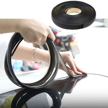 3m Car Rubber Seal Strips Auto Seal Protector Sticker Window Edge Windshield Roof Sealing Strip Noise Insulation Accessories
