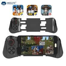 Mocute 058 Wireless Game pad For iPhone PUBG Mobile Joypad Bluetooth Android Joystick VR Telescopic Controller Gaming Gamepad flydigi x9etpro bluetooth wireless game gaming controller gamepad for iphone for android aa battery control joystick