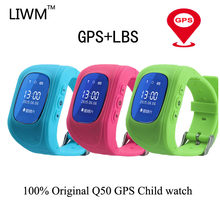 Q50 Anti Lost Child GPS positioning Watch Tracker SOS Smart Monitoring Positioning Phone Kids GPS Baby Compatible IOS & Android(China)