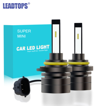 H4 H7 HB4 H11 HB3 H1 Car LED Headlight Bulbs 60W 9005 H8 H27 H3 9006 H13 5202 CSP Super Mini Fog Light Headlamp 6000K 8000LM  CA 2x f2 csp cob car led headlamp auto headlight bulbs lamp h3 h4 h7 h8 h13 h27 880 9004 9005 9006 900 led 4800lm 6500k 4300k 3000k
