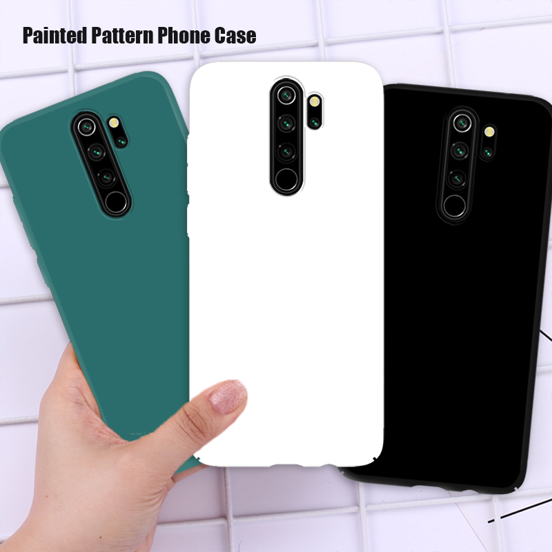 Colorful Coque Case for Redmi Note 10 Pro Max 5G 10S 9 Pro 8 8T 9S Shell Soft TPU Candy Color Phone Case for Redmi 9 9A 9C 7A