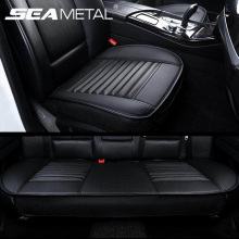 Pu Leather Car Seat Covers Universal Automobiles Seats Cover Pad Interior Side Cover Protector Four Seasons Seat Mat Accessories