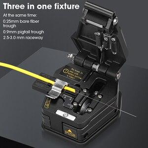 Image 2 - جديد الألياف الساطور SKL 6C كابل قطع سكين FTTH الألياف البصرية سكين أدوات القاطع ألياف عالية الدقة الساطور 16 سطح شفرة