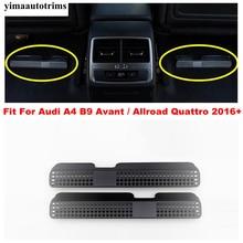 Ghế Ngồi Dưới Nhiệt Tầng Không Khí AC Ống Thông Hơi Ổ Cắm Chống Bụi Bao Viền Phụ Kiện Cho Xe Audi A4 B9 Avant/allroad Quattro 2016   2020