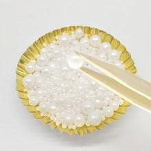 15 г съедобные белые бусины жемчужный сахарный шар помадка выпечка торта DIY разбрызгивает сахарные конфеты шар украшение свадебного торта