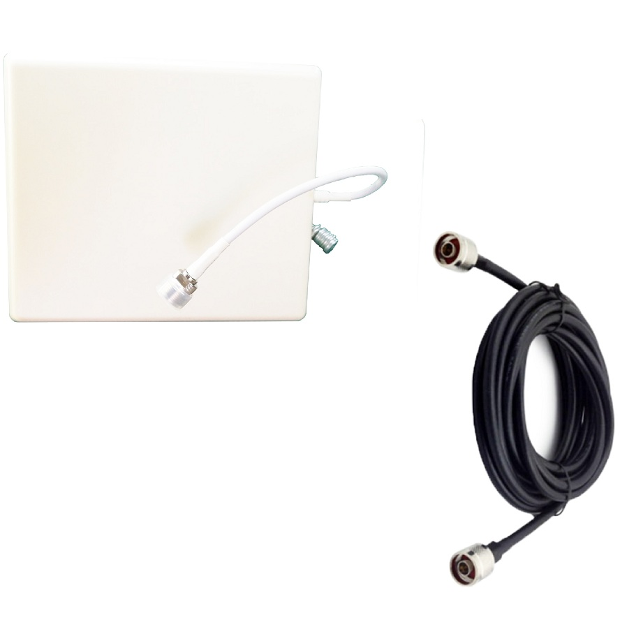 N Male Ceiling Internal Antenna 800-2700MHz Cell Phone Signal Repeater Indoor Antenna With 3 Metre Cable