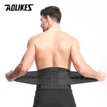 AOLIKES Taille Ondersteuning Lumbale Riem terug Brace bandage Voor Pijnbestrijding houding corrector gezondheidszorg gym fitness taille protector(China)