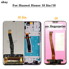 Display Per Huawei Honor 10 LCD Touch Screen Con Telaio Per HUAWEI Honor 10 Lite Display HRY LX1 HRY LX2 HRY LX1T di Ricambio