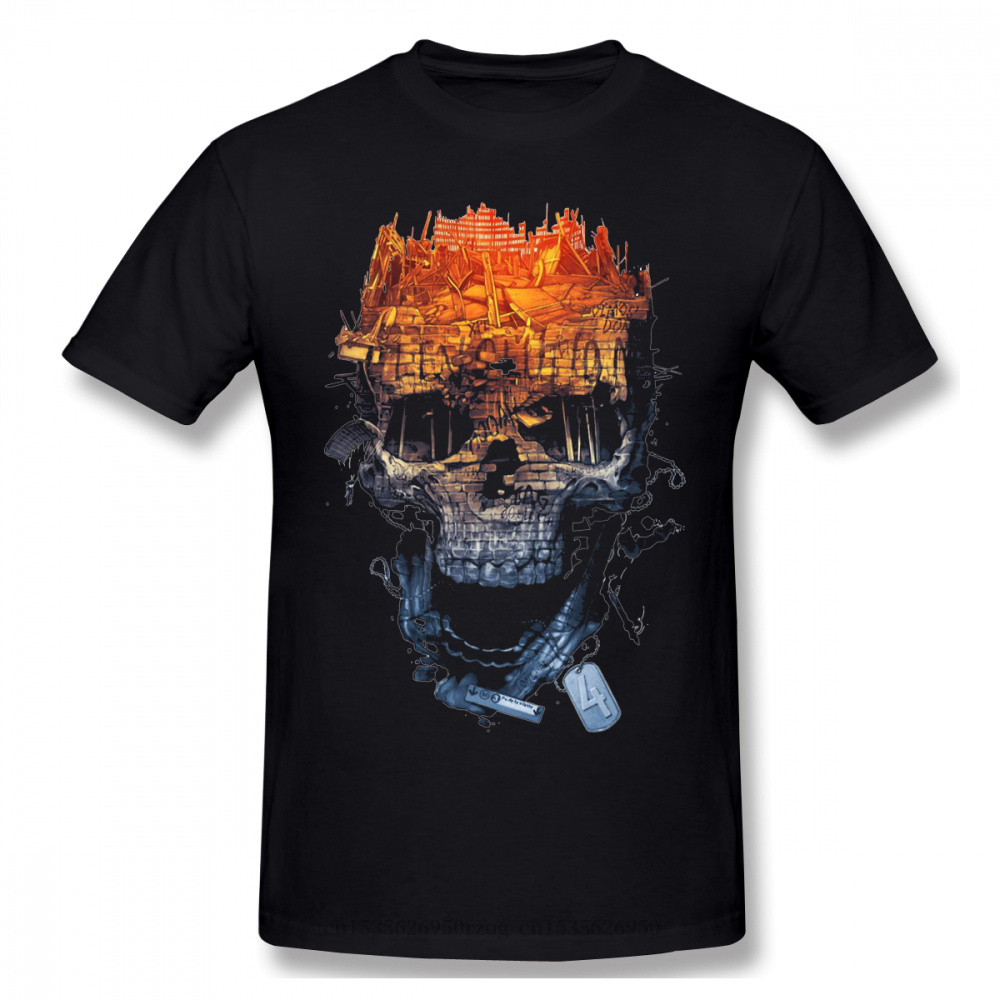 T-Shirt Homme essentiel Battlefield jeux de tir à la première personne t-shirts pur coton surdimensionné manches courtes