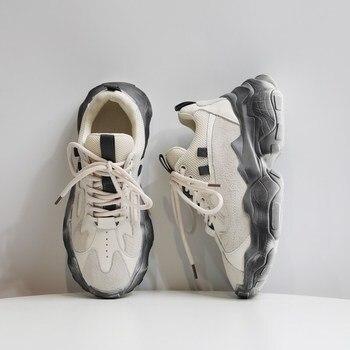 YRRFUOT chaussures décontractées pour femmes marque lumière femme mode Sneaker loisirs chaussures printemps Zapatos Mujer 2020 chaussures décontractées pour les femmes