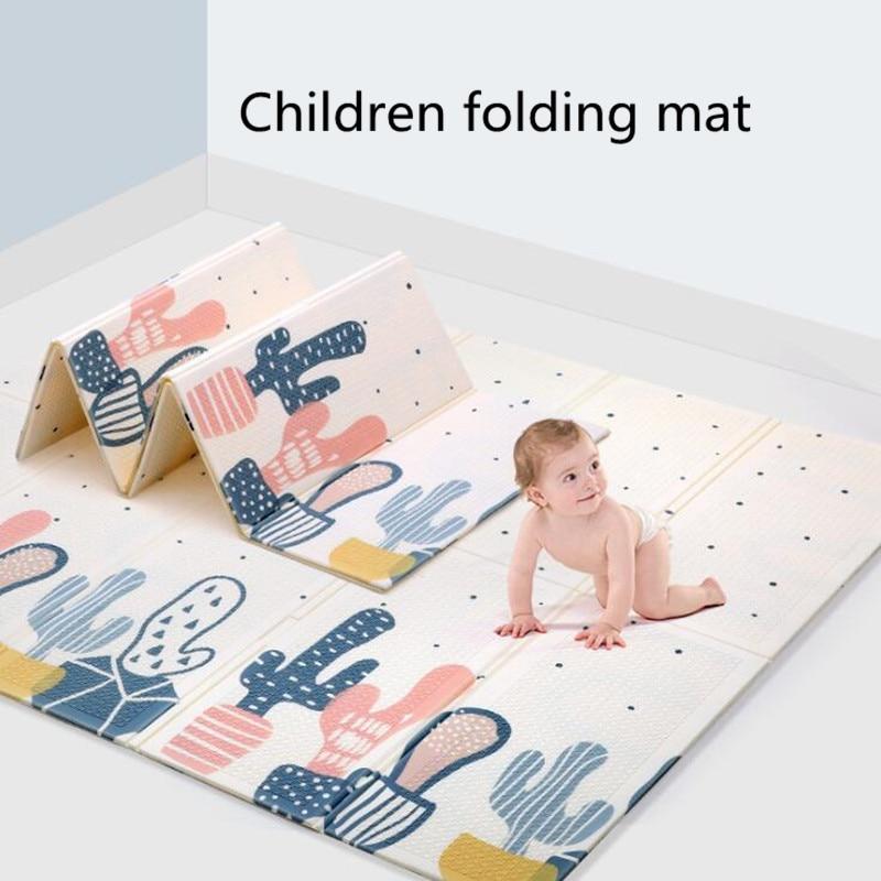 Baby Play Mat Kids Foam XPE Soft Climbing Pad Children's Carpet Foldable Kids Crawling Rug  Playmat Gym Activity Toys Room Decor