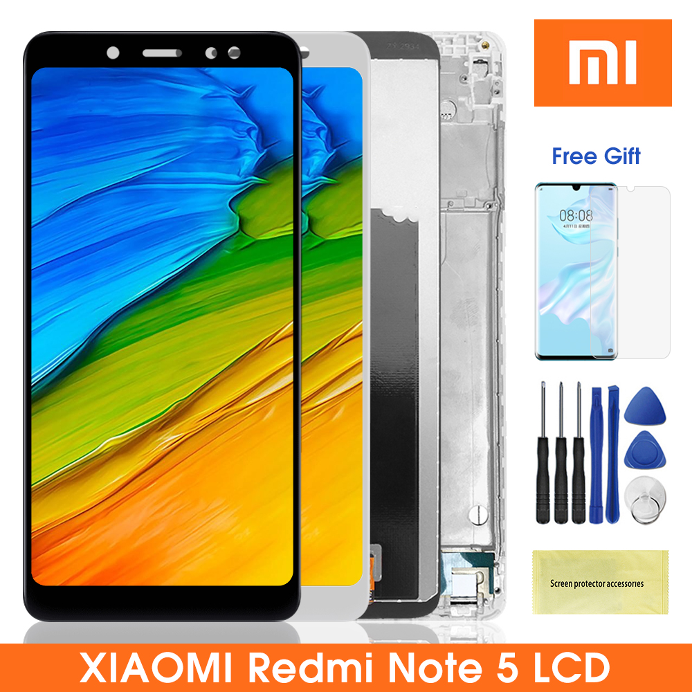 <font><b>5</b></font>.99 ''<font><b>Lcd</b></font> Display Für <font><b>Xiaomi</b></font> Redmi Note5 Hinweis <font><b>5</b></font> <font><b>LCD</b></font> Display Mit Touch Screen Digitizer Montage Für Redmi Note5 pro <font><b>Note</b></font> <font><b>5</b></font> pro image