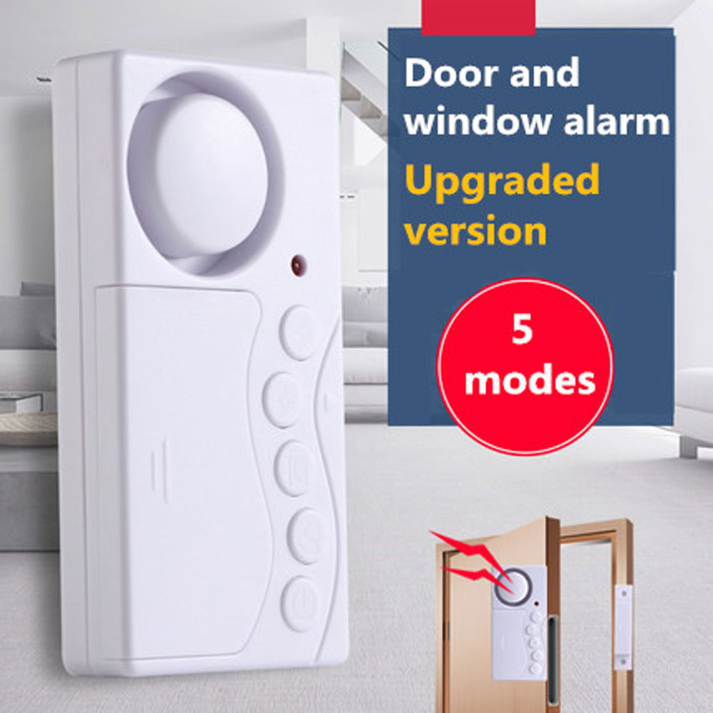 Wireless Home Window Door Burglar Security Sensor Alarm System Magnetic Sensor for Home Security System Standalone Magnetic