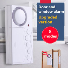Sistema de alarma con Sensor de seguridad antirrobo para puerta para ventana de casa, inalámbrico, Sensor magnético para el hogar, sistema de seguridad independiente magnético