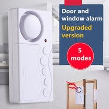 Wireless Home Fenster Tür Einbrecher Sensor Alarm System Magnetische Sensor für Home Security System Alone Magnetische