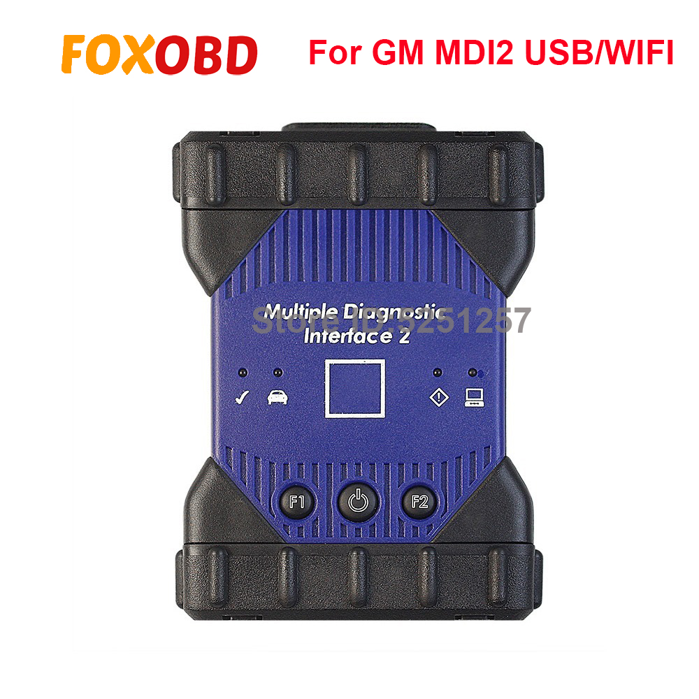 Mdi MDI2 Scanner Tool For GM MDI2 Multiple Diagnostic Interface With Wifi Card For GM MDI II Diagnostic Tool With Software HDD