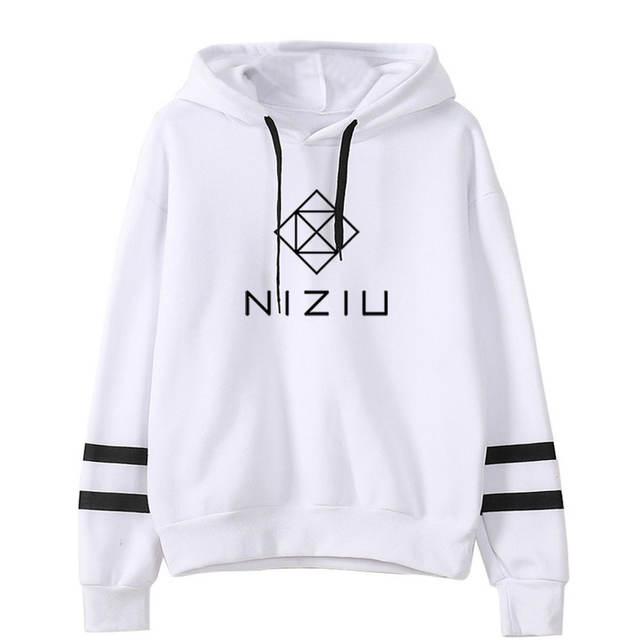 NIZIU THEMED STRIPED HOODIE (20 VARIAN)