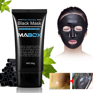 T Zone & Face Cuticle Repair Mud Mask Natural Bamboo Charcoal Mild Blackhead Remover Exfoliate Pores Deep Cleaning Mask TSLM2
