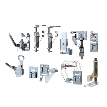 Hot 62Pcs Domestic Sewing Machine Accessories Presser Foot Feet Kit Set Hem Foot Spare Parts With Box For Brother Singer Janome