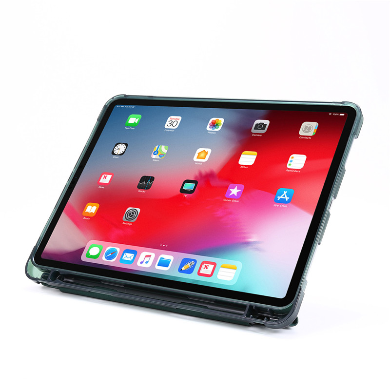 Leather Smart Flip iPad with Funda Pro PU 2020 For Stand Case Pencil Holder 11 Protective