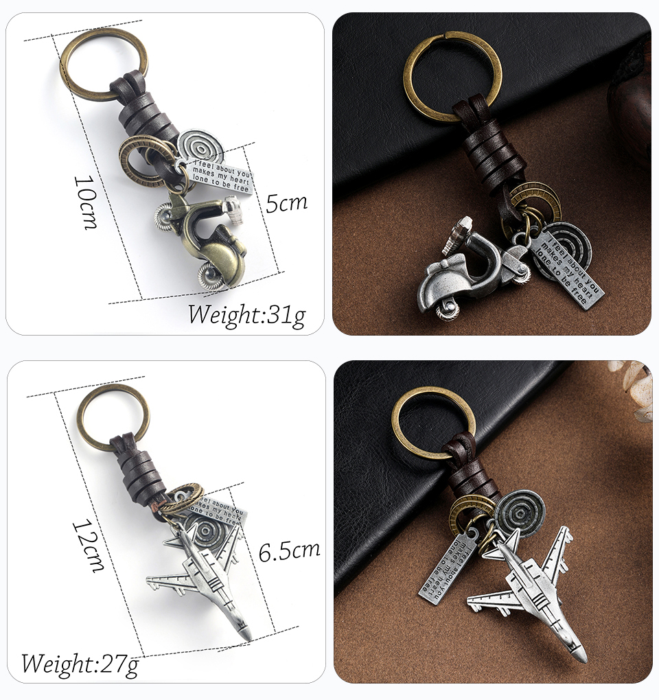 Trendy Car Key Chain Keychains Gifts For Women Men Accessories Keyholder Key-rings Bicycle Spaceship Keys Pendant Chains Key Ring Wholesale Dropshipping (3)