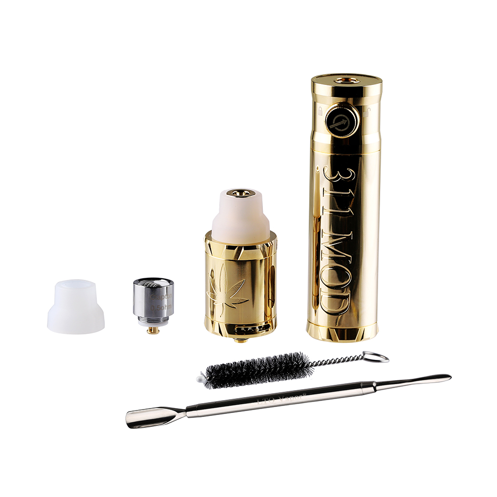 Original LTQ Vapor 311 Kit 18650 Battery Mod Kit 2-in-1 Smoking Device for Dry Herb & Wax Concentrate 4