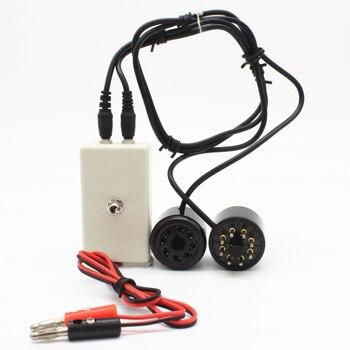 цена на EL34 KT88 6L6 6CA7 6V6 5881 6550 KT66 KT100 KT120 Vacuum Tube Tester Amplifier Bias Current Tool Radio Preamp mA Version T6