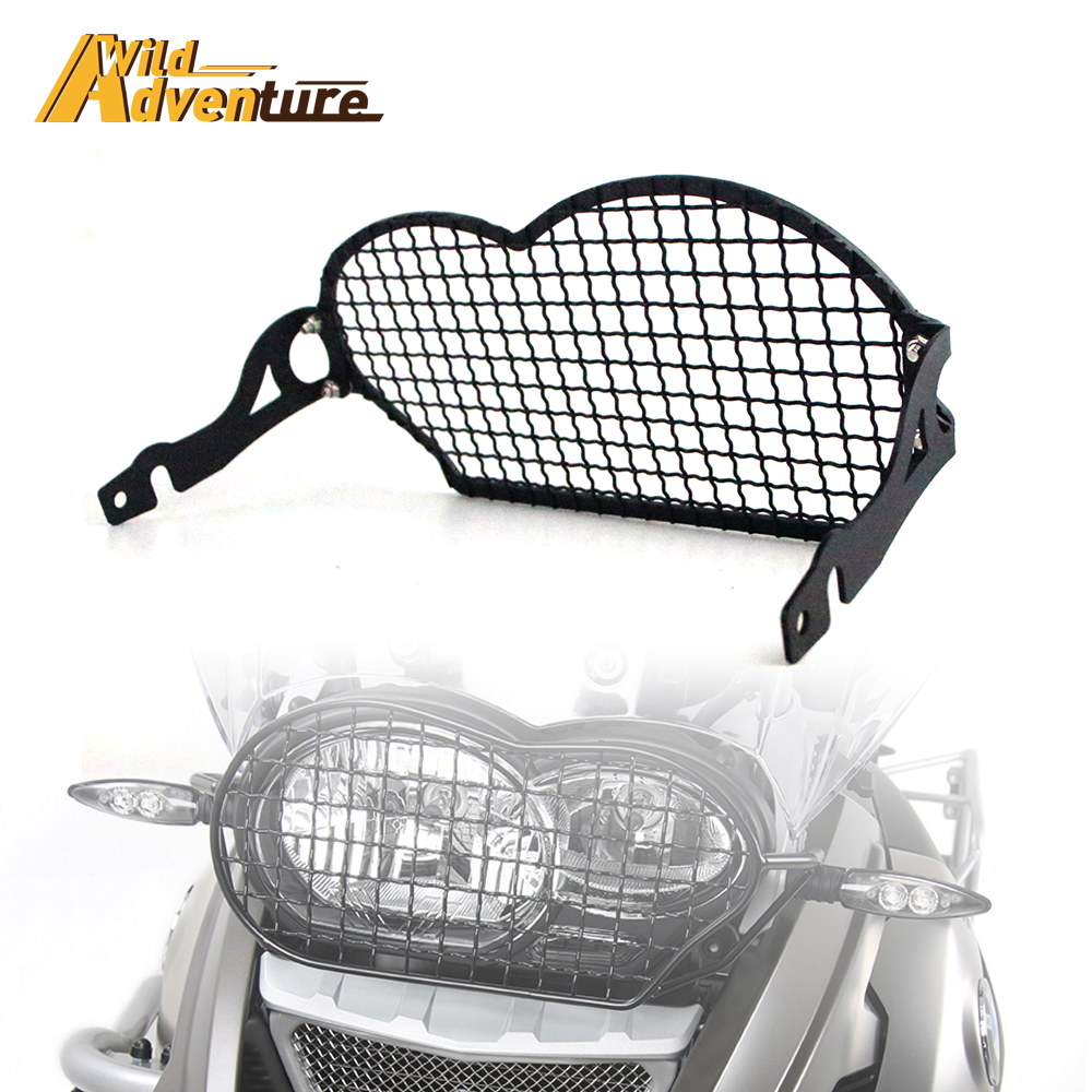 Headlight Guard Protection Cover Protector Grill Grille FOR BMW <font><b>R1200GS</b></font> R1200 GS Adv Adventure R 1200 Gs 2004-2010 <font><b>2011</b></font> 2012 image