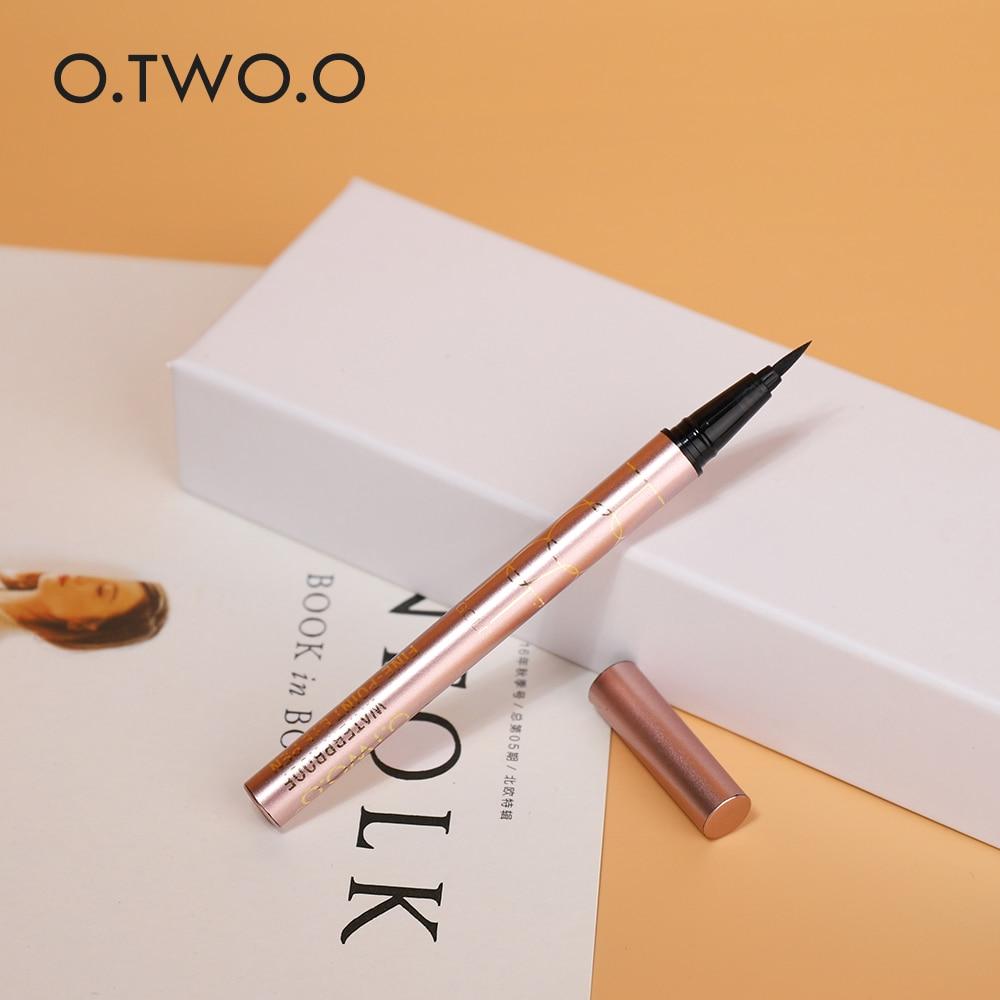O.TWO.O Professional Waterproof Liquid Eyeliner Beauty Cat Style Black Long-lasting Eye Liner Pen Pencil Makeup Cosmetics Tools 5