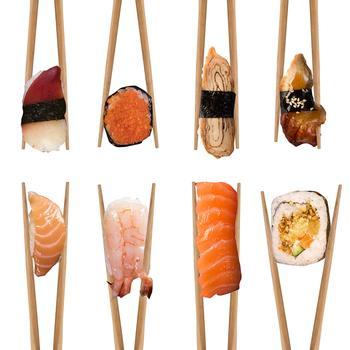 Vancasso Haruka Japanese Chopsticks Gift Set Natural Bamboo 8 Pairs Reusable Chopstick for Sushi,Noodle,Rice,Ramen with Gift Box 5